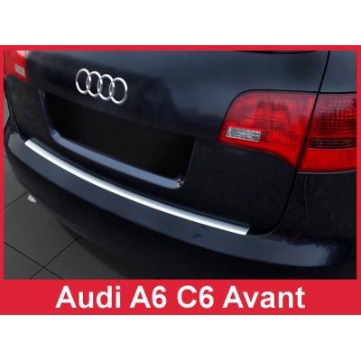 Edelstahl Ladekantenschutz AUDI A6 C6 Avant