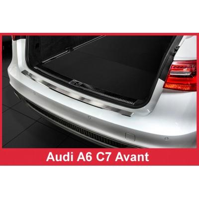 Edelstahl Ladekantenschutz AUDI A6 C7 Avant