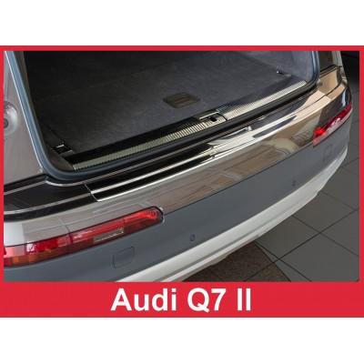 Edelstahl Ladekantenschutz für AUDI Q7 II