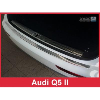 Edelstahl Ladekantenschutz AUDI Q5 II