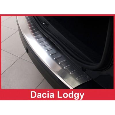 Edelstahl Ladekantenschutz Dacia Lodgy