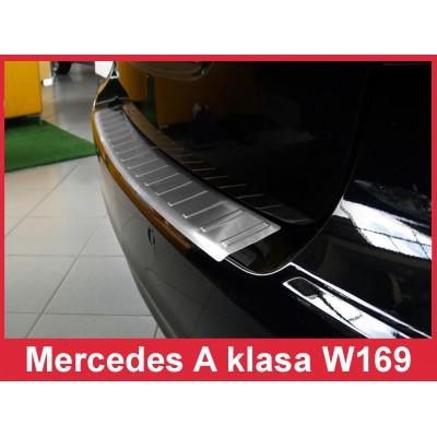 Edelstahl Ladekantenschutz Mercedes A Klasse