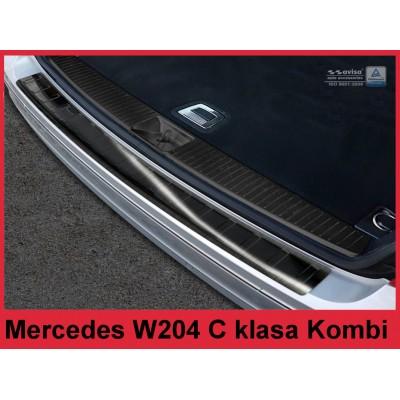 Edelstahl Ladekantenschutz Mercedes C-Klasse