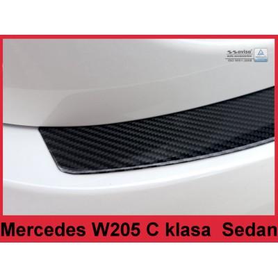 Carbon Ladekantenschutz MERCEDES C-Klasse
