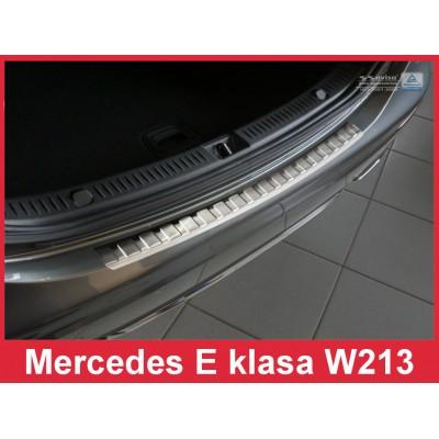 Edelstahl Ladekantenschutz MERCEDES E-Klasse W213 Limousine