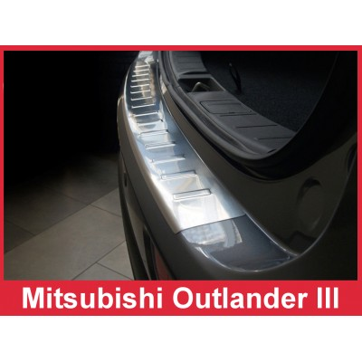 Edelstahl Ladekantenschutz MITSUBISHI OUTLANDER III
