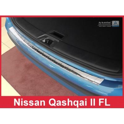 Edelstahl Ladekantenschutz NISSAN QASHQAI II