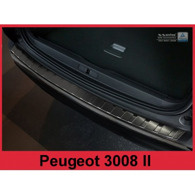 Edelstahl Ladekantenschutz PEUGEOT 3008 II