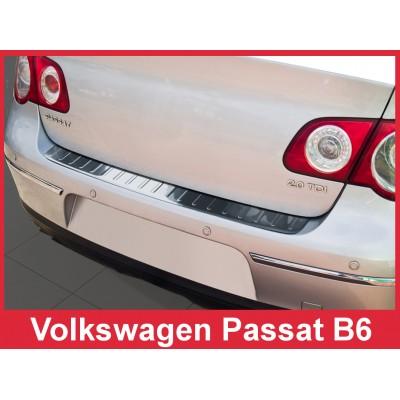 Edelstahl Ladekantenschutz VOLKSWAGEN PASSAT B6 Limousine