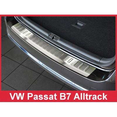 Edelstahl Ladekantenschutz VOLKSWAGEN PASSAT B7 AllTrac