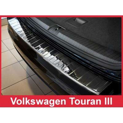 Edelstahl Ladekantenschutz VOLKSWAGEN TOURAN III