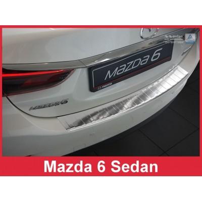 Edelstahl Ladekantenschutz MAZDA 6
