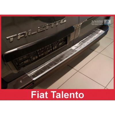 Edelstahl Ladekantenschutz Fiat TALENTO